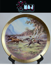 The Bradford Exchange 'The Man From Snowy River' Plate COA * RARE* (Aus Seller)