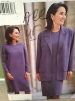 Vogue Sewing Pattern 9551 Ladies / Misses Dress Jacket Size 6-10 Uncut
