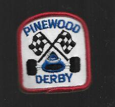 "PINEWOOD DERBY   BSA  BOY SCOUT  PATCH  2"""
