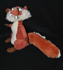 Peluche doudou écureuil Scatina AGE DE GLACE 3 Play By Play roux 26 cm TTBE