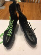Mens Black Lace Up Ice Skates Don't Know What's Size See The Pic Ships N 24h