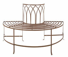 Meubles de jardin et terrasse marrons en acier