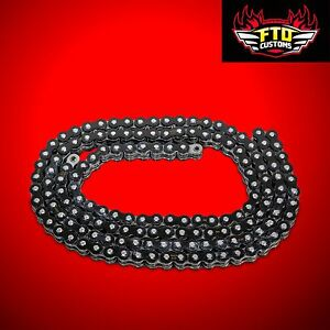 YZF R1 Black chain, 150 link-530 O-Ring Chain For  Swingarm Extensions
