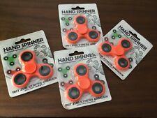 4 X Foco Diversión Juguetes Mano hilanderos Spin estrés vendedor del Reino Unido