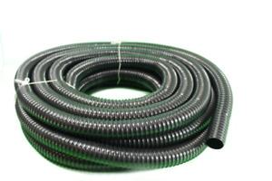 Teichschlauch Spiralschlauch für Bachlauf und Teiche 40 mm  20 m lang