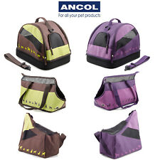 Ancol Small Dog Puppy Cat Pet Carrier Carry Tote Bag Transport Rabbit Guinea