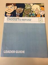 Drugs A Deadly game choose To Refuse book Cub Boy Scout Webelos Leader Guide