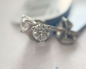 .36 Ct GSI Certified Round Brilliant Diamond Earring Studs Lab grown