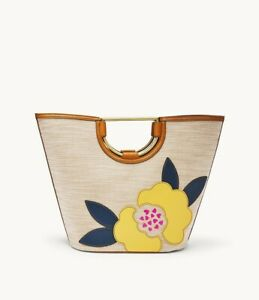 Fossil Amy Large Bucket Bright Flower Patch Bag SHB2398169
