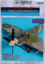 Aires 1/48 Spitfire Mk. IX Del Motore Set per kit Hasegawa # 4210