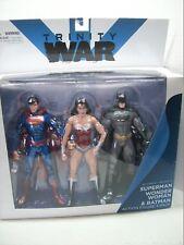 New 52 Superman Wonder Woman Batman 3 action figure pack