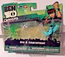 Ben 10 Omniverse Ben & Diamondhead 2-pack New MOSC