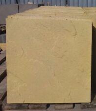 450 x 450 X 38 mm  BUFF Concrete  Riven Paving Slabs