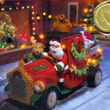 Bucilla SANTA DELIVERY TRUCK Felt with Light Kit CENTERPIECE KIT NEW