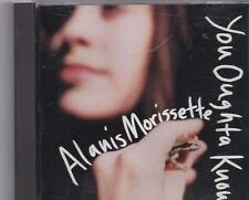Alanis Morissette-You Oughta Know Promo cd single