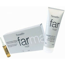 Noir Kit Farmavita ® Shampoo 250ml + Lotion 8ml x 12 vials HairLoss Anticaduta