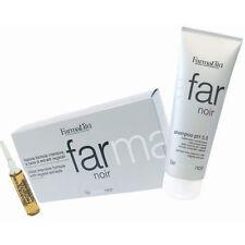 Noir Kit Farmavita ® Shampoo 250ml + Lotion 8ml x 12 vials HairLoss Anticaduta