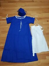 Adult Women's Pioneer Pilgrims Prairie Colonial Dress Costume