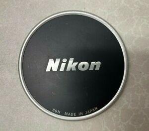 Classic Nikon OEM 86N 86mm Metal Front Lens Cap
