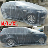 Plastic Transparent Car Cover Dustproof Waterproof For Body Protector Protection