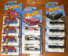 HOT WHEELS BAT MOBILE DELOREAN SUPER MARIO BARBIE CORVETTE 11 CAR LOT !!!
