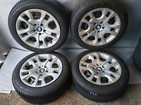 Winterreifen Michelin Alpin5 BMW X1 E84 xDrive28i 25d 18d 16d 225/50 R17 94H MS*