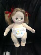 Naked Mattel My Child doll dark blonde