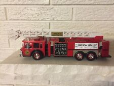 Gibson Rd Antique Fire Assoc Firehouse Edition Toy Snorkel fire truck SPAAMFAA