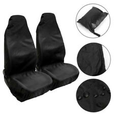 Car Seat Cover Protect From Sweat Stains Odors Black Waterproof Polyester Auto