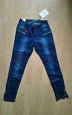 NEU NP 59,95€ Jeanshose Damenhose Jeans Hose sisters Point W30 L28 dunkel blau