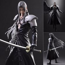 Play Arts Kai Final Fantasy VII 7 Advent Children Sephiroth Action Figure No Box