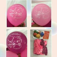Party :  Hello Kitty size 12 Balloon Party Decor 25 pcs