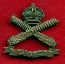 "WW1 Canada ""Machine Gun Corps C.E.F."" Cap Badge with Canada Ribbon"