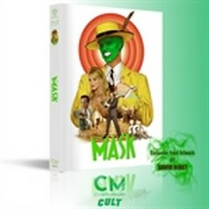 The Mask - Mediabook Variant B - Numerata 500 Copie (Blu-Ray Disc + DVD)