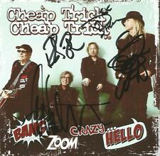 Cheap Trick Autographed  Bang Zoom Crazy Hello CD