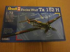 REVELL 03981 FOCKE WULF TA 152 H scala 1/72