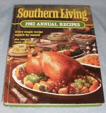 Southern Living 1982 Annual Recipes Cookbook Illustrated Color Photos HB