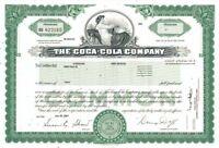 Coca-Cola Company (Coke) - Stock Certificate