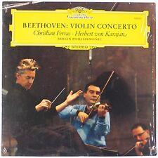 BEETHOVEN: Violin Concerto Karajan, FerrasDGG 139021 Vinyl LP NM-