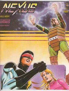 Nexus #3, STEVE RUDE, MIKE BARON, SIGNED RUDE & BARON, FRANK BRUNNER Fine 1982 r