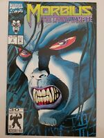 MORBIUS #2 (1992) MARVEL COMICS SPIDER-MAN! RISE OF THE MIDNIGHT SONS! NEW MOVIE