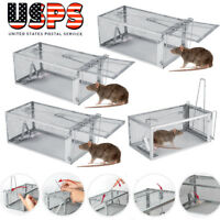 1-10 Live Animal Cage Mouse Trap Rat Hamster Catch Control Bait Hunting Catcher