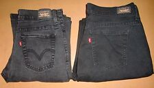 LEVIS SIZE 10 JEANS, 2 PAIR, 1 STRAIGHT LEG 505 & 1 PERFECTLY SLIMMING 512