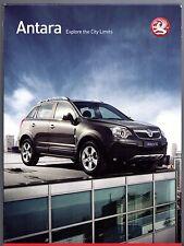 Vauxhall Antara 2007 UK Market Launch Sales Brochure & DVD