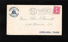 Alter Ego Club Chelsea Massachusetts Boston 1899 Flag C Boston Chelsea Rcvd z77