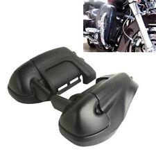 TC Matte Black Lower Vented Leg Fairings Glove Box For Harley Street Road Glide
