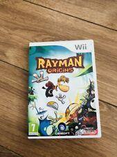 Jeu nintendo wii Wii U- Rayman origins En Bon État Fr