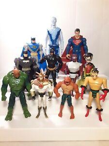 DC & Comics Action Figure Lot: Batman Robin