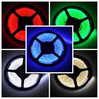 Bright LED Strip Lights 12V  2835 SMD RGB 300 LED Flexible 5M Tape Strip Light