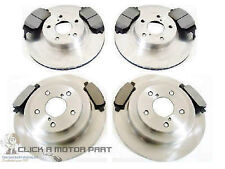 for SUBARU FORESTER 2.0 2003-2008 FRONT AND REAR BRAKE DISCS & PADS SET NEW
